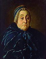 Portrait of Anna Vasiliyevna Buturlina, 1763, antropov