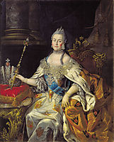 Portrait of Catherine II, antropov
