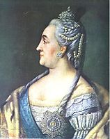 Portrait of Catherine II the Great, 1766, antropov