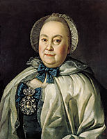 Portrait of Countess M.A.Rumyantzeva, 1764, antropov