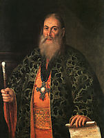 Portrait of Fyodor Dubyansky, 1761, antropov