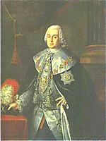 Portrait of General in Chief, Count William W.Fermor, 1765, antropov