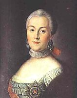 Portrait of Grand Duchess Catherine Alekseevna, Future Empress Catherine II the Great, 1770, antropov