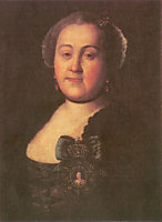 Portrait of a Mistress Agrippina Leontyevna Apraksina , antropov