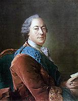 Portrait of Prince M.I.Vorontsov, antropov