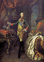 Portrait of Tsar Peter III (1728-62), 1762, antropov
