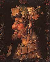 Autumn, 1573, arcimboldo