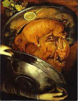The Cook , arcimboldo