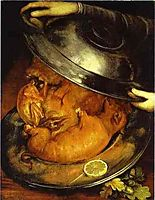 The Cook, ~1570, arcimboldo