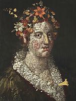 Flora, 1591, arcimboldo