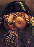 The Gardner, arcimboldo