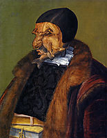 The jurist lawyer, 1566, arcimboldo