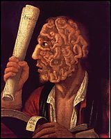 Portrait of Adam , 1578, arcimboldo