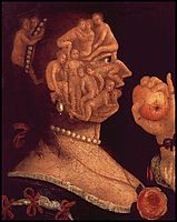 Portrait of Eve, 1578, arcimboldo