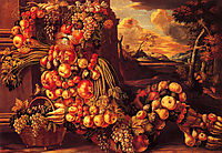Seated Figure of Summer, 1573, arcimboldo