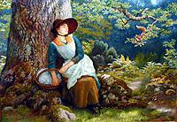 Asleep in the Woods, arthurhughes