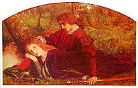 Enid and Geraint, arthurhughes