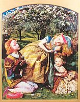 The King-s Orchard, c.1858, arthurhughes