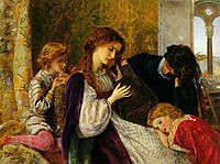 A Music Party, 1864, arthurhughes
