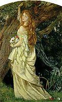 Ophelia, c.1863, arthurhughes