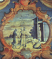 Abraão Adora os Três Anjos, 1799, ataide