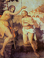 Baptism of Christ, ataide