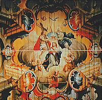 A Coroação da Virgem pela Santíssima Trindade (detail), 1811, ataide