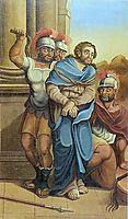 A Flagelação de Cristo, ataide