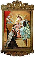 Nossa Senhora do Carmo e São Simão Stock, ataide