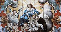 A Virgem entrega o Menino Jesus a Santo Antônio de Pádua (detail), 1810, ataide