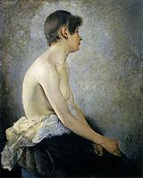 Half Nude, 1888, azbe