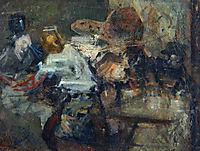 In a Studio, 1905, azbe