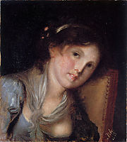 Portrait of a girl, 1885, azbe