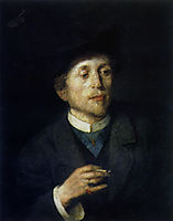 Self-portrait, 18, azbe