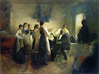 The Village Choir, 1900, azbe