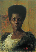 Zamorka (Black Girl), 1895, azbe