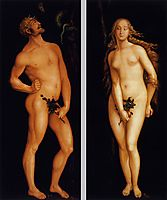Adam and Eve, 1524, baldung