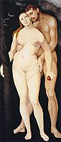 Adam and Eve, 1531, baldung