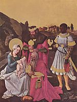 Adoration of the Magi, c.1510, baldung