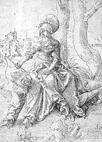 Aristotle and Phyllis, baldung