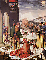 Beheading of St.Dorothea, 1516, baldung