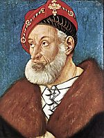 Count Christoph I Of Baden  , 1515, baldung