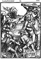 The Erection of the Cross, 1507, baldung