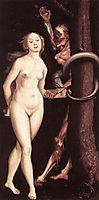 Eve, the Serpent and Death, 1510, baldung