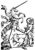 Family coat of arms Baldung, 1530, baldung