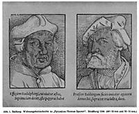 Hans Baldung Grien and John Rudalfinger, 1534, baldung