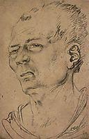 Head of man, baldung