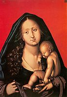 Maria with the sleeping child, baldung