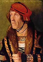 Portrait of Ludwig Graf zu Loewenstein, 1513, baldung