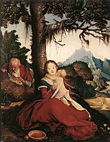 Rest on the Flight to Egypt, 1514, baldung